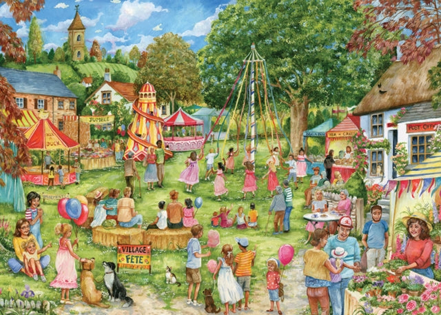 Village Fete 1000 Piece Jigsaw-5017680047053