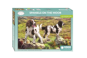 Spaniels on the Moor 1000 Piece Jigsaw-5017680058042