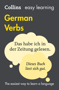 Easy Learning German Verbs : With Free Verb Wheel-9780007369768