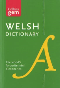 Collins Welsh Dictionary Gem Edition : Trusted Support for Learning, in a Mini-Format-9780008194833