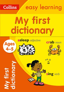 My First Dictionary Ages 4-5-9780008209483