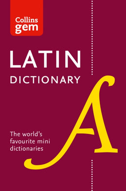 Collins Latin Dictionary Gem Edition : Trusted Support for Learning, in a Mini-Format-9780008218614