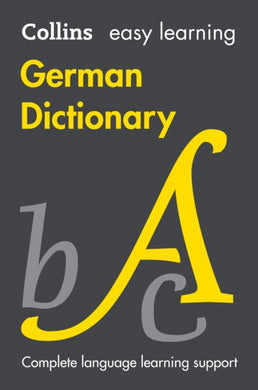 Easy Learning German Dictionary-9780008300265