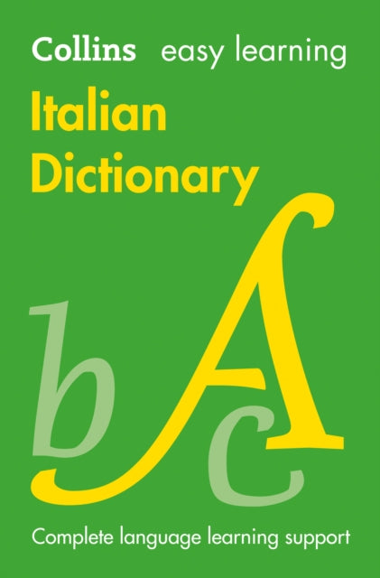 Easy Learning Italian Dictionary : Trusted Support for Learning-9780008300272