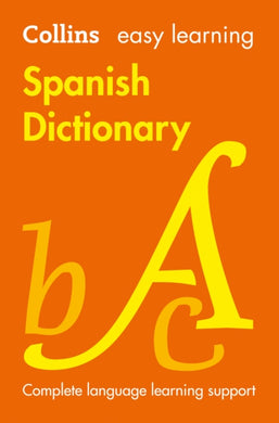 Easy Learning Spanish Dictionary-9780008300296