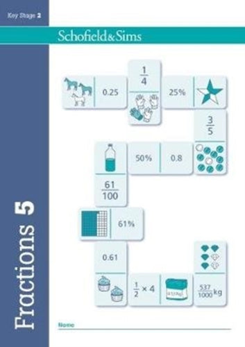 Fractions, Decimals and Percentages Book 5 (Year 5, Ages 9-10)-9780721713830