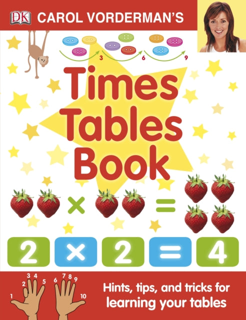 Carol Vorderman's Times Tables Book-9781405341363