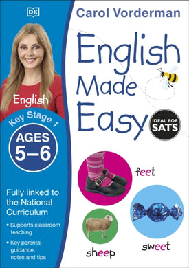 English Made Easy Ages 5-6 Key Stage 1-9781409344643