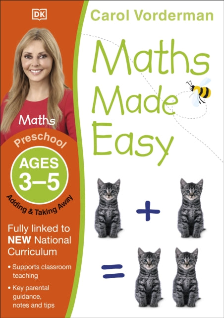 Maths Made Easy Adding and Taking Away Ages 3-5 Preschool-9781409344735