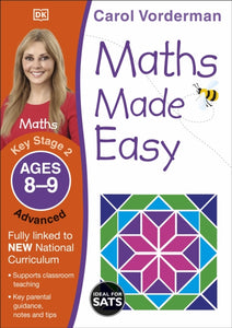 Maths Made Easy Ages 8-9 Key Stage 2 Advanced-9781409344810