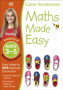 Maths Made Easy Matching and Sorting Ages 3-5 Preschool-9781409344865