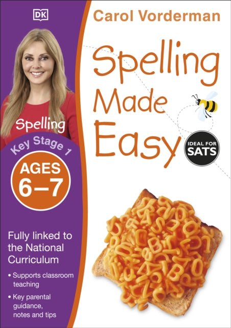 Spelling Made Easy Ages 6-7 Key Stage 1-9781409349433