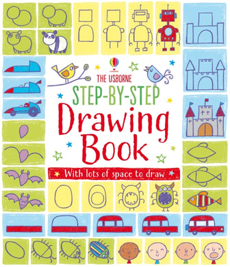 Step-by-Step Drawing Book-9781409565192