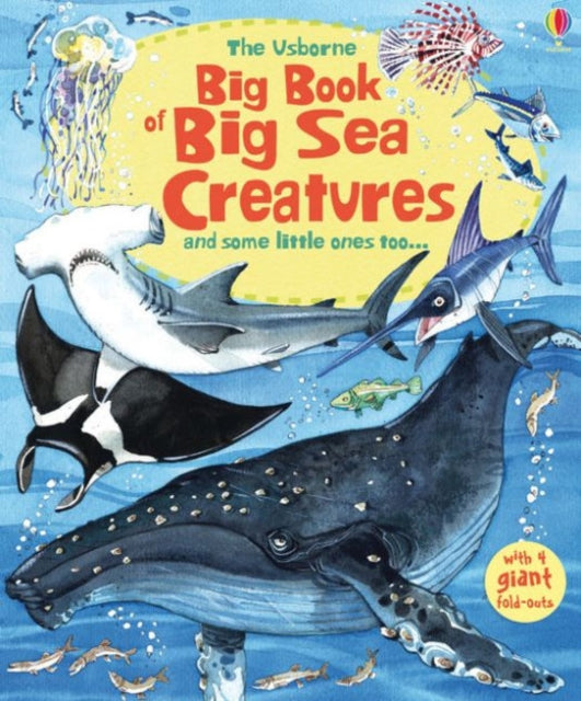 Big Book of Big Sea Creatures-9781474921015