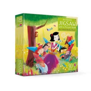 An Usborne Jigsaw with a Picture Book Snow White and the Seven Dwarfs-9781474929059