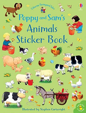 Poppy and Sam's Animals Sticker Book-9781474952774