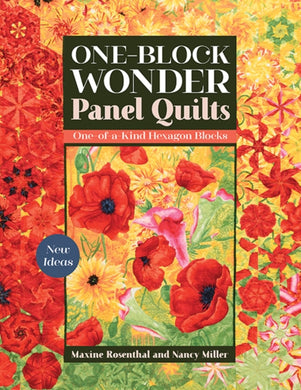 One-Block Wonder Panel Quilts : New Ideas; One-of-a-Kind Hexagon Blocks-9781617459849