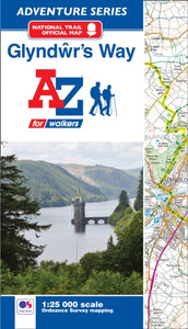 Glyndwr's Way Adventure Atlas-9781782571971
