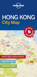 Lonely Planet Hong Kong City Map-9781786574121