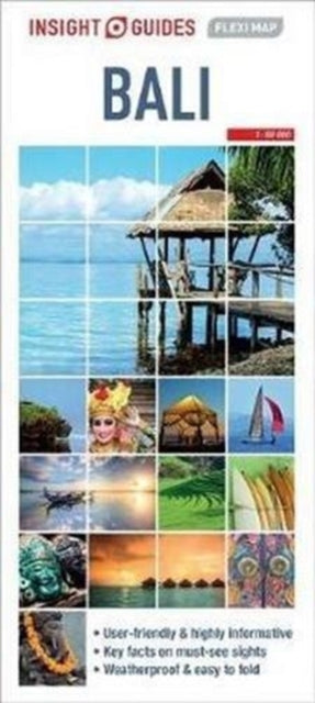 Insight Guides Flexi Map Bali-9781786719324
