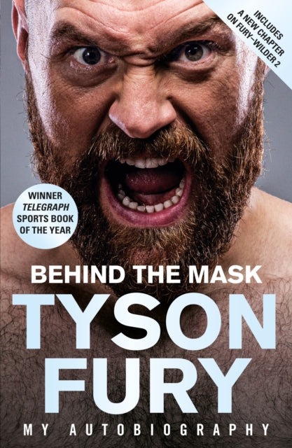 Behind the Mask : My Autobiography - Winner of the 2020 Sports Book of the Year-9781787465060
