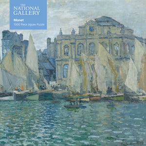 Adult Jigsaw Puzzle National Gallery: Monet The Museum at Le Havre : 1000-piece Jigsaw Puzzles-9781787556096
