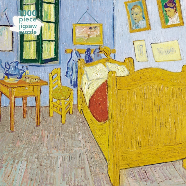 Adult Jigsaw Puzzle Vincent van Gogh: Bedroom at Arles : 1000-piece Jigsaw Puzzles-9781787558847