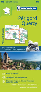 Quercy Perigord Zoom Map 118-9782067217874