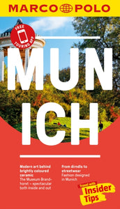 Munich Marco Polo Pocket Travel Guide 2018 - with pull out map-9783829707763