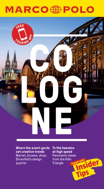 Cologne Marco Polo Pocket Travel Guide 2019 - with pull out map-9783829757546