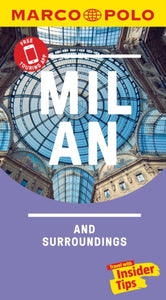 Milan Marco Polo Pocket Travel Guide 2019 - with pull out map-9783829757638