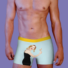 Face On Hug Body Boxer Shorts Personalised Underwear