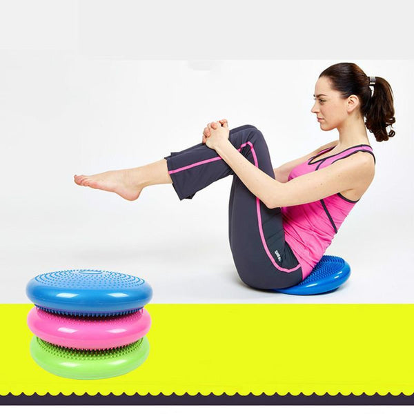 Yoga Fitness Equipment Balance Stability Disc Cushion