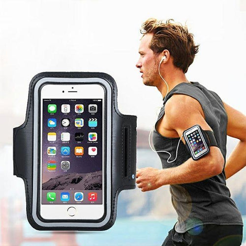 Phone Arm Holder Running Armband Upgraded Version Black For Iphone