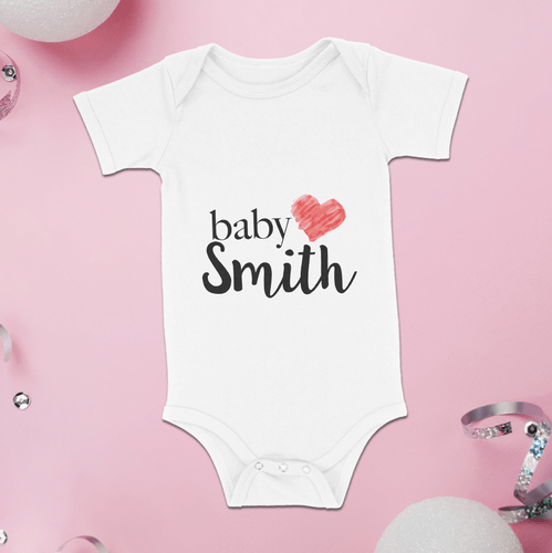 Custom Baby Name Bodysuits Onesie