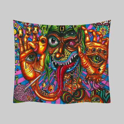 Psychedelic Tapestry, Wall Decor Hanging Tapestry