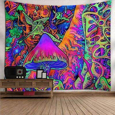 Psychedelic Tapestry, Abstract Art, Wall Decor Hanging Tapestry