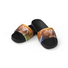 Custom Pet Photo Men's Slide Sandals