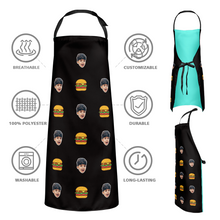 Custom Face Apron Cartoom Photo Apron - Hamburg
