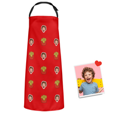 Custom Face Apron Cartoom Photo Apron - French fries