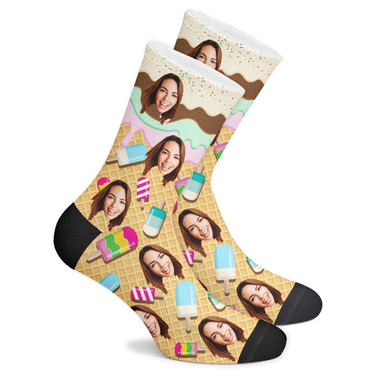 Customized Icecream Socks