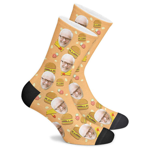 Customized Burger Socks