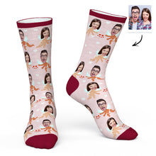 Custom Face Socks Personalized Photo Socks Angel for You