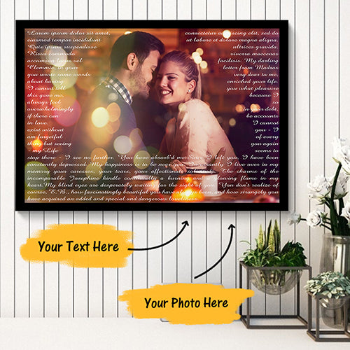 Custom Canvas Prints with Frame Photo Canvas Painting Sweet Time 30x20cm