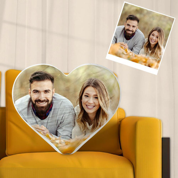 Custom Photo Pillow Personalized Heart Pillow for Love 40cm