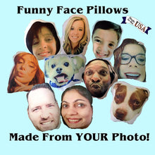 Custom Photo Pillow, Custom Face Pillow, Personalized Pillows