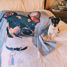 Custom Dog Blanket Pet Blanket Custom Pet Blanket