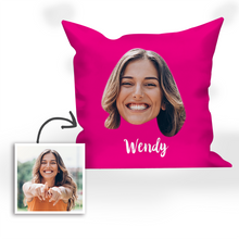 Gifts for Mom Custom Name Photo Pillow