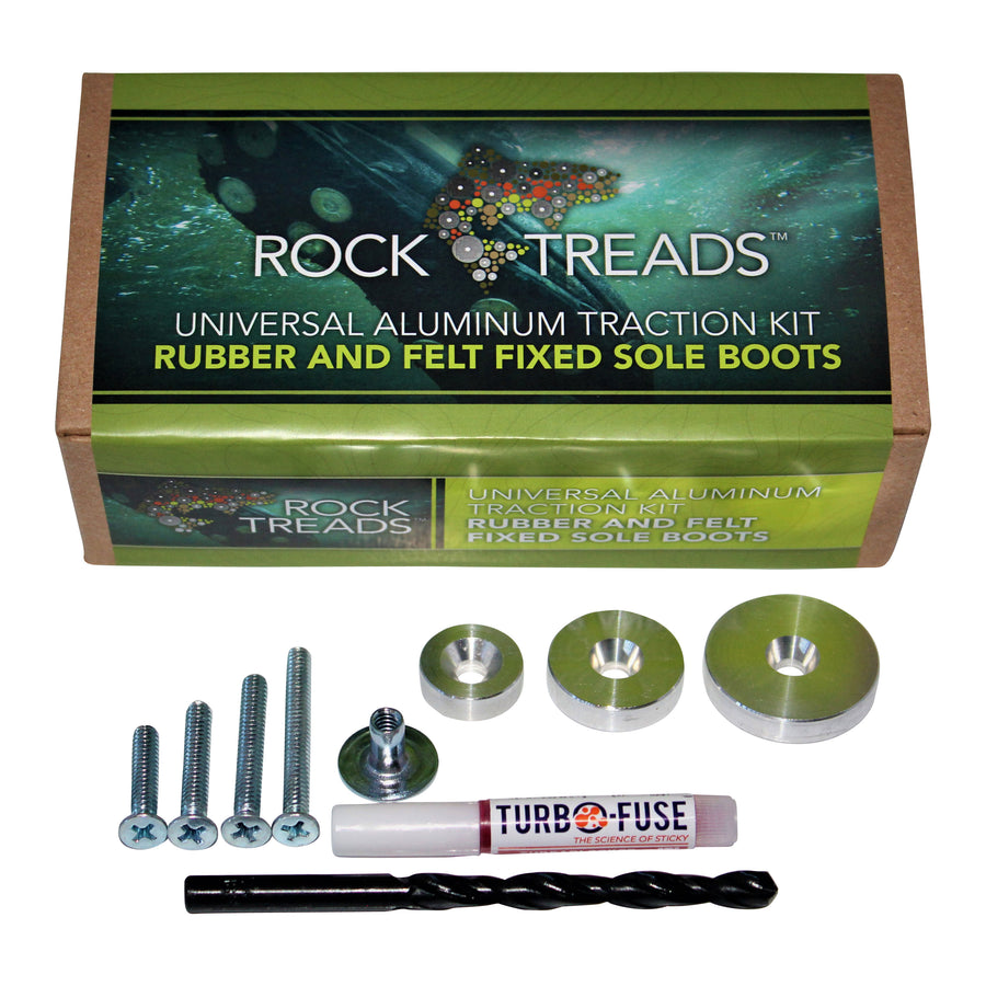 Rubber & Felt Fixed Soles Kit
