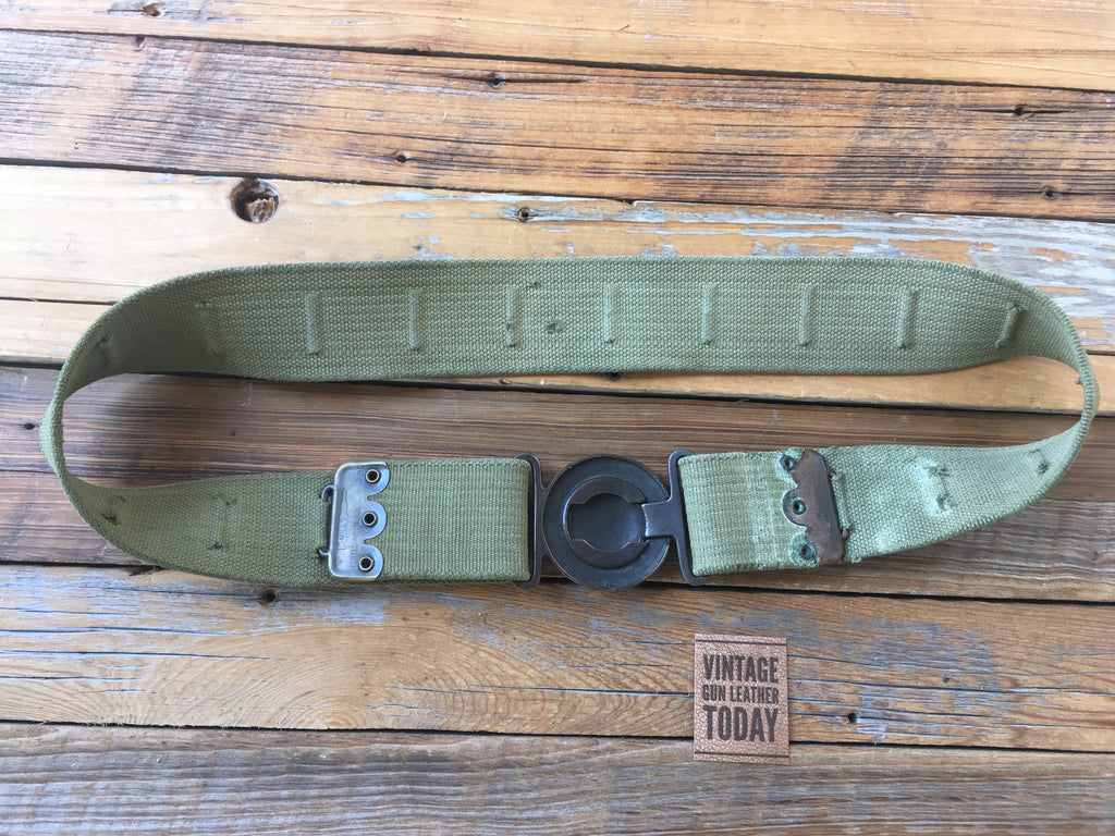 WW1 / Border War US Military M1910 Garison Belt 1907 Mills Woven Border War